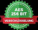 AES 256 Bit Verschlüsselung